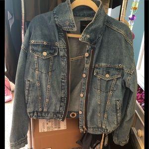 Zara Trafaluc denimwear jacket